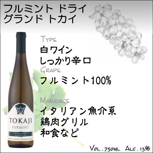 【貴腐ワイン 白ワイン】トカイ フルミント ドライ グランド トカイ