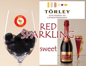 赤のスパークリングワイン