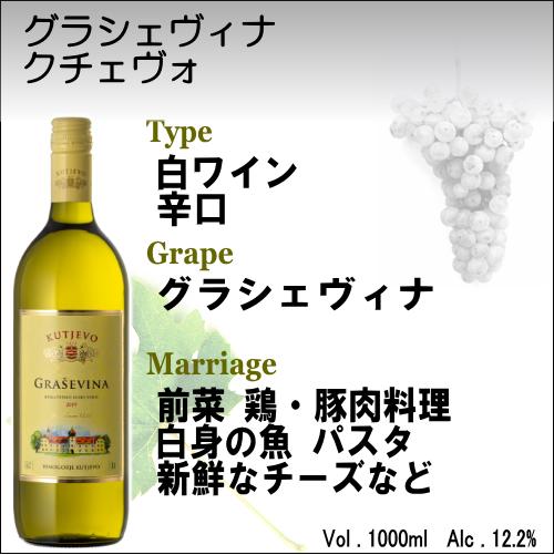【白ワイン クロアチア】グラシェヴィナ クチェヴォ