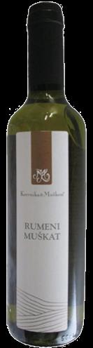 マスカット(白、スロベニアワイン)
